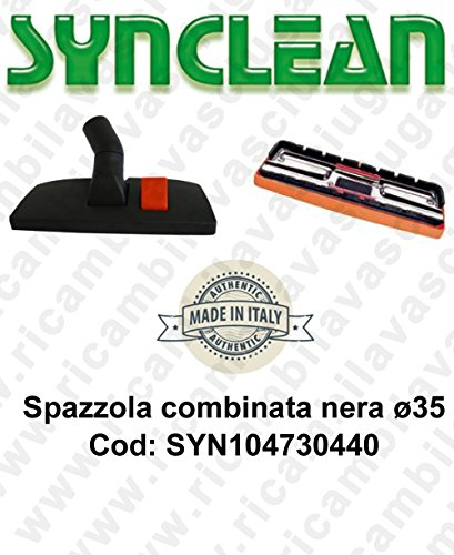Bürste kombiniert Ø 35Für Staubsauger und Handstaubsauger syn104730440(Kompatibel Soteco)