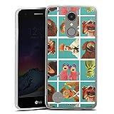 DeinDesign Coque en Silicone Compatible avec LG K4 2017 Étui Silicone Coque Souple Muppets Produit...