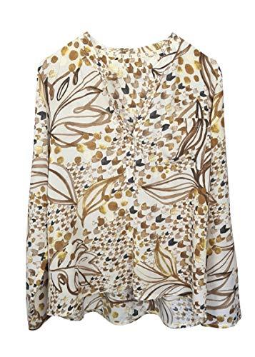 HEIMATLIEBE Damen Bluse in herbstlichen Farben
