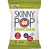 SkinnyPop - Original Popped Popcorn, Individual Bags, Gluten Free Popcorn, Non-GMO and Vegan Snack, No Artificial Ingredients, 1.0oz, (Pack of 12)