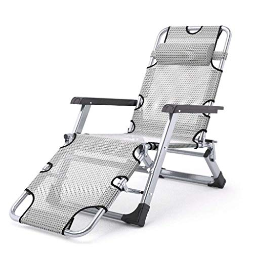 FHISD Relaxing Chair Portable Zero Gravity Chair Lounge Chair,Breathable and Comfortable, Folding Chair Adjustable Recliner Chair for Backyard Deck Poolside Beach