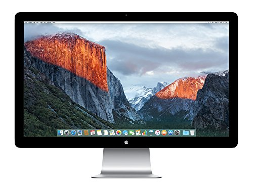 Apple MC914ZM/B Thunderbolt Display 68,6 cm (27 Zoll) LED Monitor (Thunderbolt, 12ms Reaktionszeit)