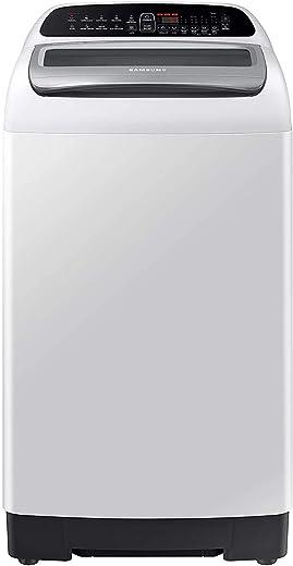 Samsung 6.5 Kg 5 Star Inverter Fully-Automatic Top Loading Washing Machine (WA65T4262GG/TL, Light Grey, Wobble technology) 1