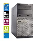 Ordinateur de Bureau Dell OptiPlex 7010 MT - Core i5-3570 @ 3,4 GHz - 8Go RAM -...