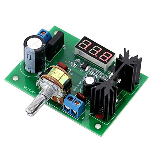 CY LM317 LED Meter Adjustable Voltage Regulator Step Down Power Supply High Efficiency Module Module
