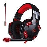 ArkarTech Cascos Auriculares Gaming con Micr├│fono Headset Auricular...