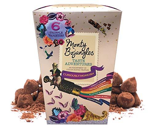 Monty Bojangles Taste Adventures Kakao bestäubtes Pralinen Sortiment, Kronen Geschenk, 225g