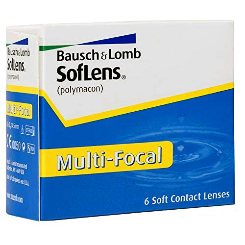 Bausch & Lomb Soflens Multifocal, 6 Stück / BC 8.5 mm / DIA 14.5 / -0,25 Dioptrien