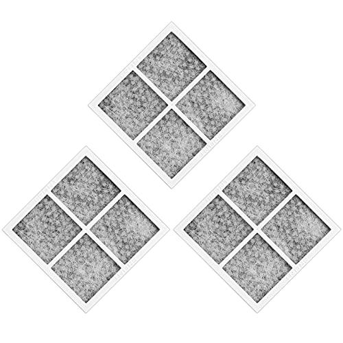 Haisheng 3 Stück Kühlschrank Luftfilter Ersatzfilter Gefrierschrank Kühlschrank Filter Set Frischluft Replacement Refrigerator Air Filter für LG LT120F Kenmore Elite 469918 Kühlschrank Gefrierschrank