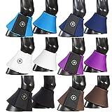 PFIFFsoft, Protezioni Mini-Shetty, per Gli Zoccoli dei Cavalli, di Colore Nero