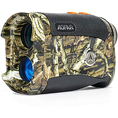 AOFAR Range Finder for Hunting Archery H2 600 Yards Shooting ProWild Waterproof Coma Rangefinder, 6X 25mm, Range and Bow Mode, Gift Package from AOFAR