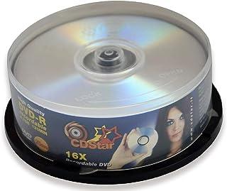 CD STAR DVD-R 16x 4,7 GB, 25 Pack
