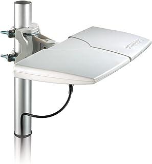 Antena INTERNA/EXTERNA Digital Amplificada de 22DB HDTV/UHF/VHF/FM SDV8625T/55 Philips