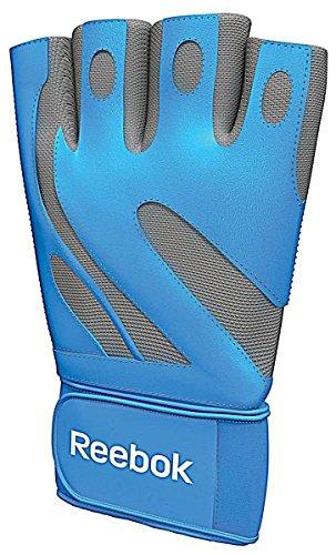 Reebok Fitness Handschuh Glove I30016 /RE0-40133CB BLAU / GRAU Gr. M