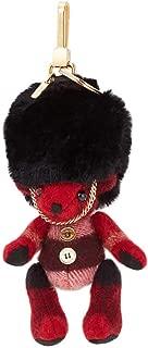 Ladies Keyfobs Thomas Military Red Tdybr Charms In Fur Hat