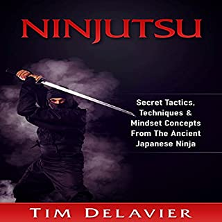 Ninjutsu audiobook cover art