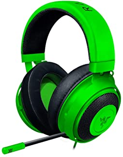 Razer KrakenCascos Gaming, Auriculares Gaming con cable para juegos multiplataforma para PC, PS4, Xbox One & Switch, Diafr...