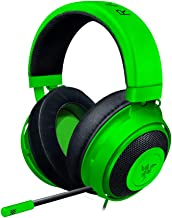 Razer Kraken - Wired Gaming Headset for Multiplatform Gaming for PC, PS4, Xbox One and Switch, 50 mm Diaphragm, 3.5 mm Cab...