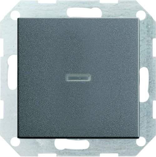 Gira Tastschalter 013628 Kontroll Wechsel System 55 ant, 250 V