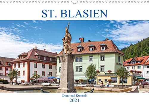 St. Blasien - Dom- und Kurstadt (Wandkalender 2021 DIN A3 quer)