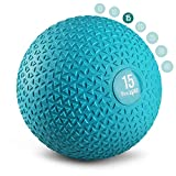 Yes4All Triangle Slam Ball - 15lbs, Trendy Teal (V48T)