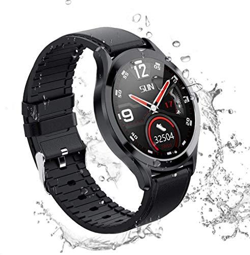 TYUI Reloj inteligente deportivo para hombre y mujer, resistente al agua IP67, con podómetro, compatible con Android e iOS Phones-G
