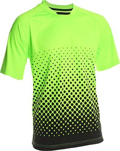 Vizari Ventura Short Sleeve Goalkeeper Jersey Neon Green Black Size Adult Large product image