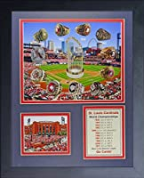 """Legends Never Die St. Louis Cardinals MLB World Series Rings and Championships Collectible 