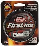 Berkley Fireline, 30/12 Lb, 125 Yd , Smoke
