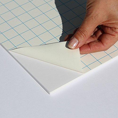 Fixmount Leichtschaumplatte Weiß selbstklebend - DIN A1-5mm stark