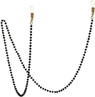 Gracelife Eyeglasses Chain Strap Cord Premium Quality Beaded Glasses Necklace Holder Eyewear Retainer Lanyard