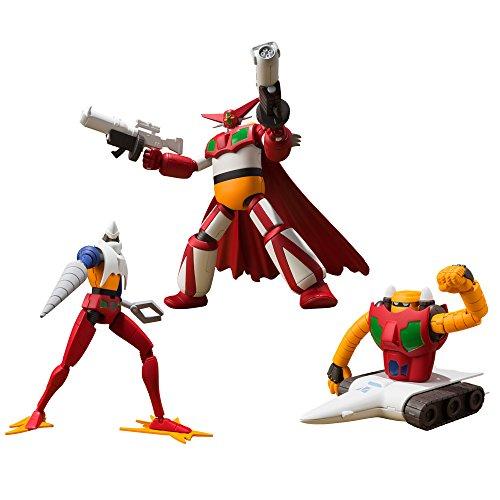 Super Minipura True (Change !!) Getter Robo Vol.1 (3 Pieces) Candy Toys & Gum (True Change !! Getter Robo World Last Day)
