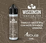 NEBULA AROMA CONCENTRATO Mix & V. 20 ml MADE IN ITALY - 2019 (WISCONSIN)