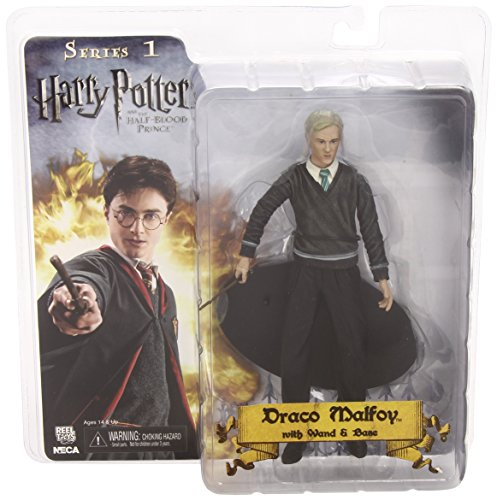 NECA Harry Potter and the Half Blood Prince 7 Inch Action Figure Draco Malfoy image