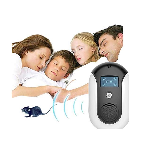 Ultrasónico Electromagnético Repelente de plagas Control electrónico Repelente de Errores Inteligente Enchufe en el hogar Almacén Interior y Exterior