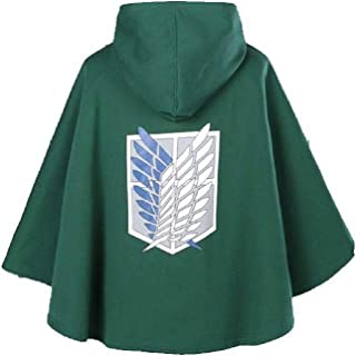 Shingeki no Kyojin Attack on Titan Cloak Scouting Legion Freedom Cloak Cape