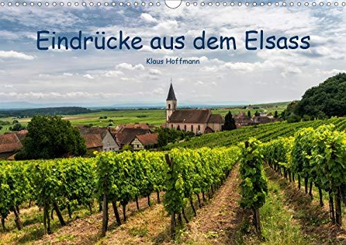 Eindrücke aus dem Elsass (Wandkalender 2021 DIN A3 quer)