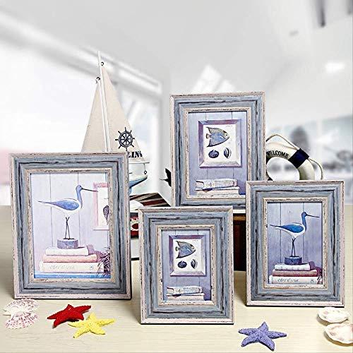 YKDDII fotolijsten Frame Set 5-10 Inch Creatieve ornamenten fotolijsten Voor Home Decor Desktop Foto 1 st Klassieke Mode Multifunctionele fotolijst