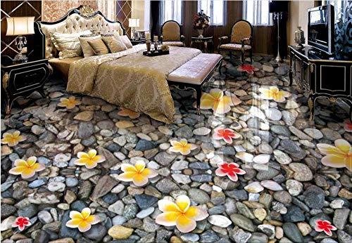 3D Vloer Waterdichte Lijm Badkamer Vinyl Woonkamer Slaapkamer Bloemen Mural Wallpaper Home Decoratie 30 x 300 cm.