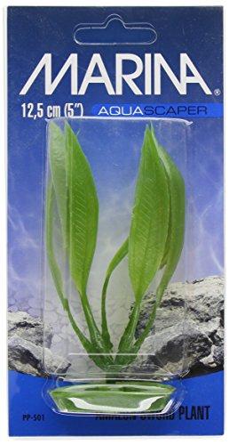 Marina Plantas Plásticas AquascaperPequeñas EspadadelAmazonas,12,5 cm