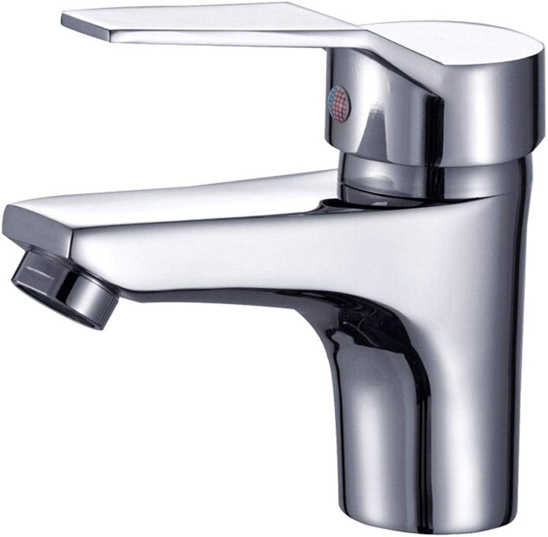 Yxx max Bathroom Copper Faucet Hot And Cold Washbasin Mixer Bathroom Counter Basin Faucet