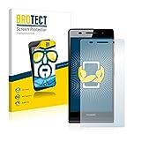 BROTECT Schutzfolie kompatibel mit Huawei Ascend P6 (2 Stück) klare Bildschirmschutz-Folie