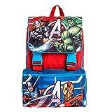 Zaino Estensibile Big Organizzato Marvel Avengers Con Spallacci Regolabili e Schienale Imbottito, Perfetto Per Scuola e Tempo libero (Zaino)