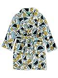 Sesame Street Little Boys' Toddler Cookie Monster Plush Robe - Multi, 2t