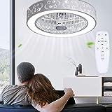 Ventilatore da soffitto moderno creativo con telecomando, silenzioso, per cameretta dei ba...