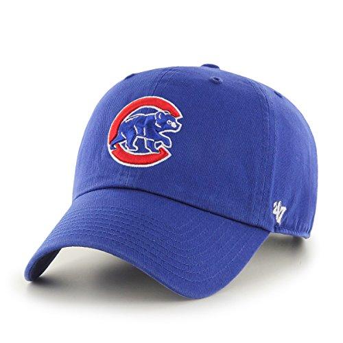 '47 MLB Clean Up Verstellbare Kappe, Erwachsene, B-RGW05GWS-RYA, Royal - Alternate, Einheitsgröße