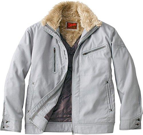 自重堂 JAWIN 防寒ジャンパー 58100 シルバー Lサイズ