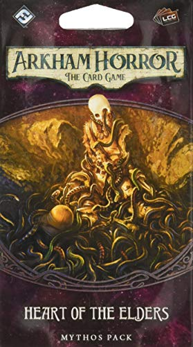 Fantasy Flight Games FFGAHC22 Heart of The Elders: Arkham Horror LCG Exp, Mehrfarbig