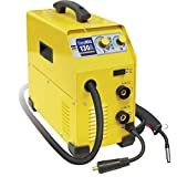 GYS EASY<span class='highlight'>MIG</span> 130 130A Multi-<span class='highlight'>Process</span> Inverter Welder: <span class='highlight'>MIG</span>/MAG & MMA-Supplied Ready to Weld with Accessories, 230 V, Yellow