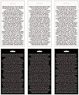 Small Talk Stickers by Tim Holtz Idea-ology, 8.25 x 4.25 Inch Sheet Size